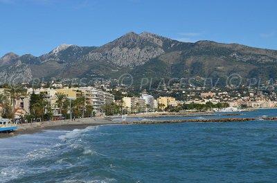 Roquebrune Cap Martin, partie est
