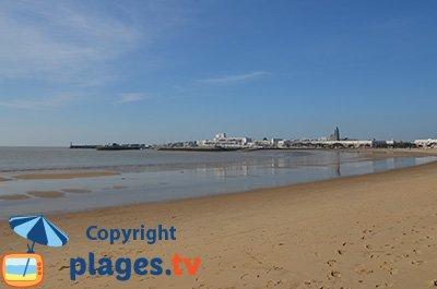 Station balnéaire et plage de Royan
