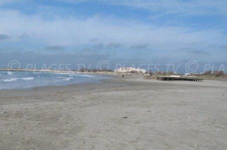 Une plage des Stes Maries de la Mer