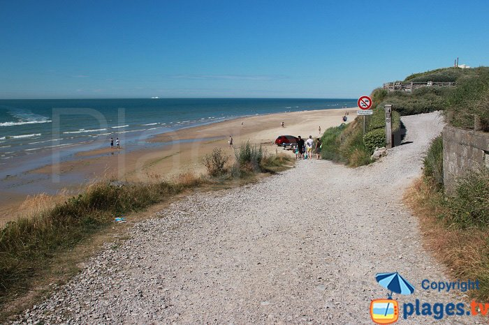 The Strouanne: a confidential beach in North of France