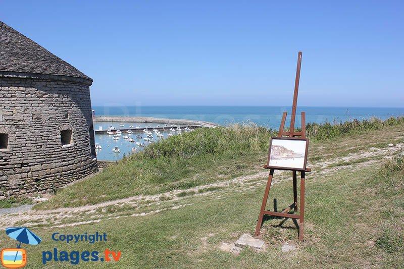 Vauban and the artists - Port en Bessin