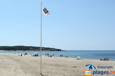Beach in Talmont St Hilaire in France