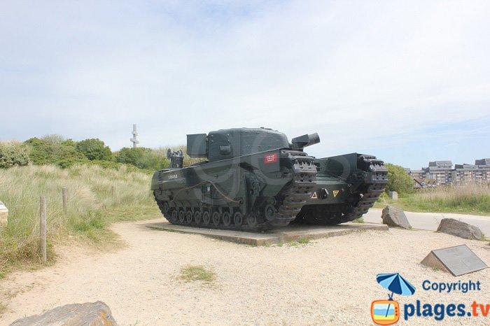 Tank à Courseulles sur Mer