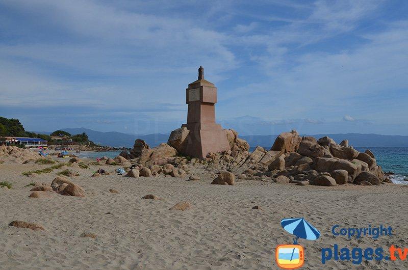 Terre Sacrée à Ajaccio : une belle plage