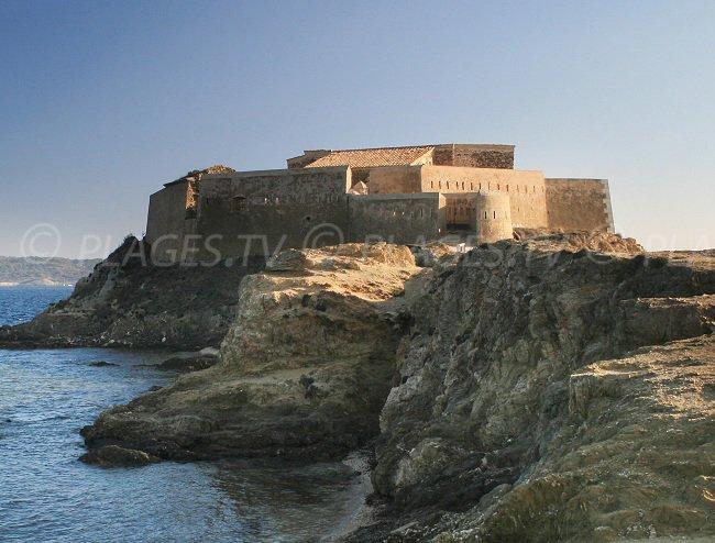 Fort de la Tour Fondue sur la presqu'ile de Giens