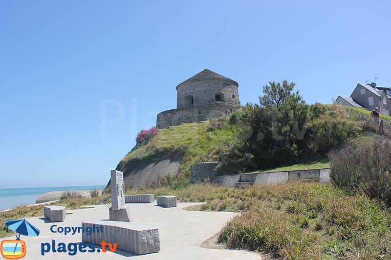 Tower of Vauban in Port en Bessin - Normandy