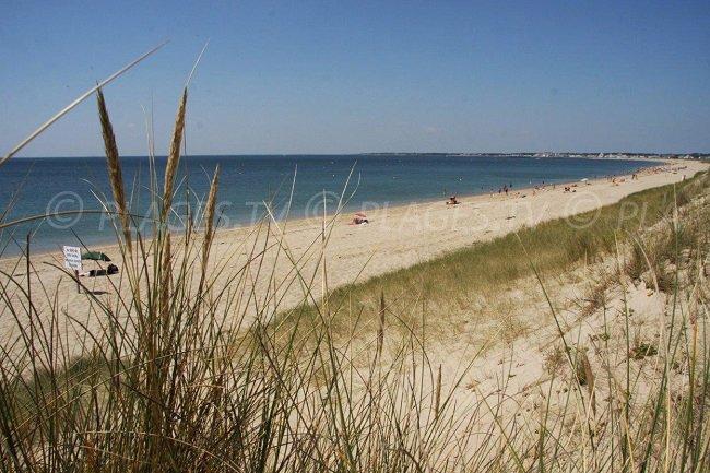 La Turballe: une agréable plage en Loire Atlantique