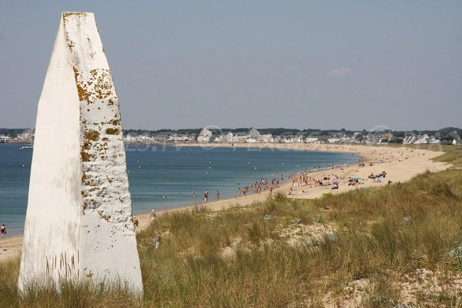 La Turballe and its beach