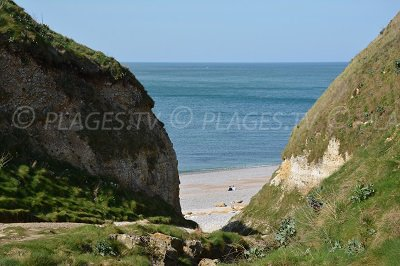 Valleuse of Antifer and its beach - Normandy