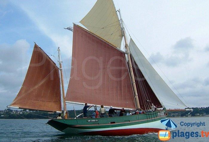 Sailing ship in Perros Guirec