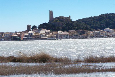Gruissan and its pond - France
