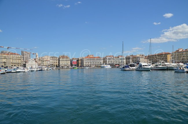 Old Port in Marseille - South of France
