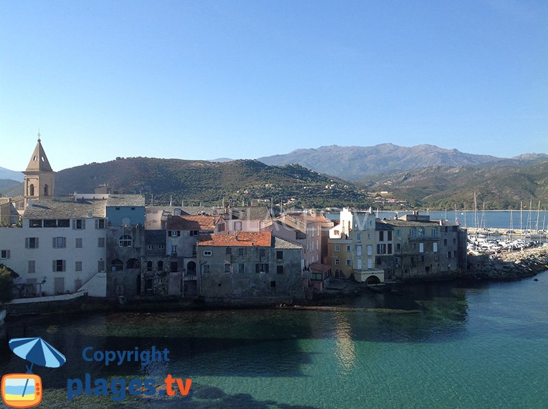 St Florent in Corsica
