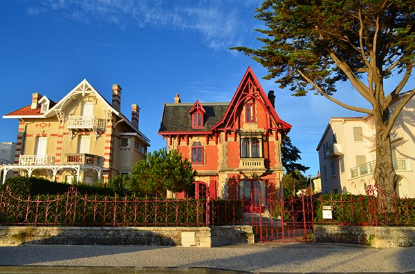 Villa Belle Epoque in Royan - France