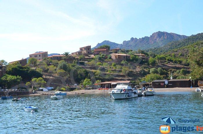 Village de Girolata en Corse
