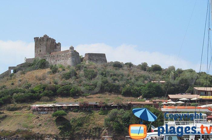The castle of Girolata