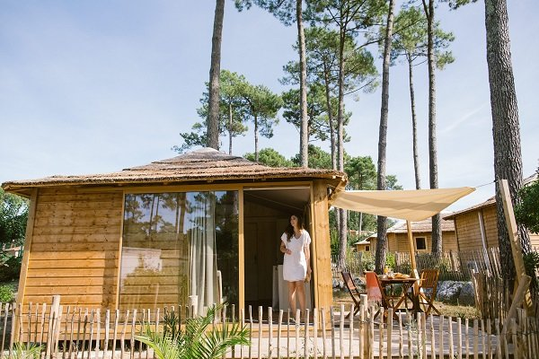 Cabanes en bois à Seignosse - Naturéo
