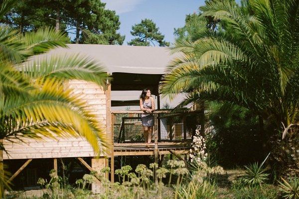 village natur o seignosse proche plage des bourdaines. Black Bedroom Furniture Sets. Home Design Ideas