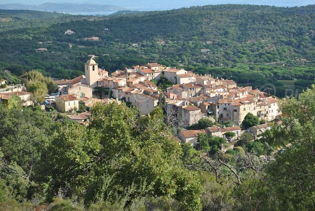 Village of Ramatuelle in France