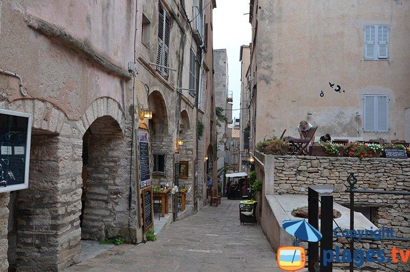 La città alta Bonifacio - Corsica