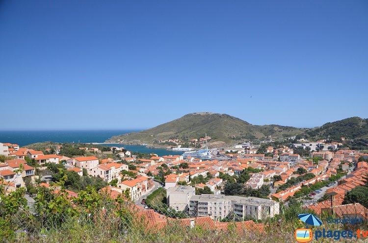 Vue générale de Port Vendres