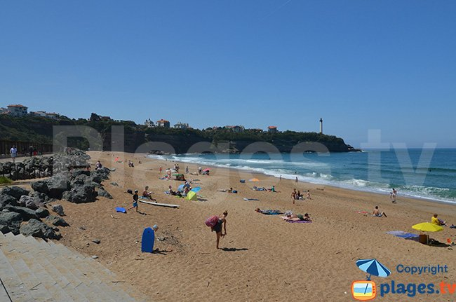 Beach near Biarritz in Anglet - VVF
