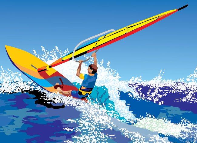 Windsurf à Gruissan - DefiWind