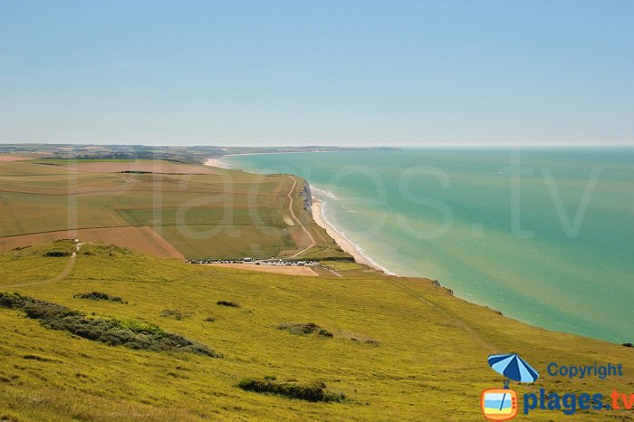 Wissant from Cap Blanc Nez