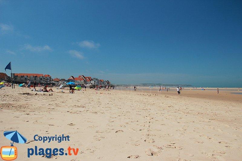 Wissant : une immense plage de sable