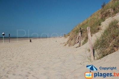 Zuydcoote, sa plage et les dunes