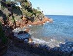 Ile des Vieilles Cove - Agay