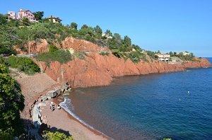 Spiaggia d'Abel Baliff - Agay