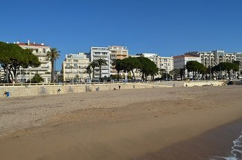 Strand Croisette - Cannes