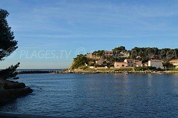 Spiaggia del Port des Tamaris - La Couronne