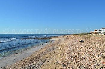 Spiaggia porto di Carro