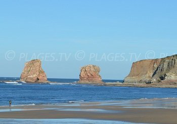 2 Jumeaux Beach  - Hendaye