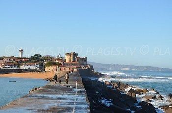 Spiaggia del Forte di Socoa