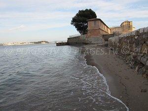 Spiaggia del Fort de l'Eguillette