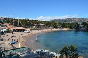 Plage du Camp Long - Agay