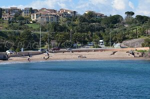 Spiaggia del Pourrousset