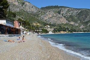 Eze beach - Eze