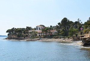 Spiaggia  dei Cailloux Plats