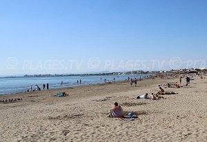 Spiaggia Rive Droite (riva destra) - Le Grau-du-Roi
