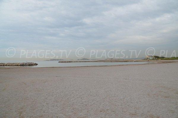Spiaggia del Prado Nord