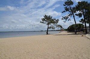 Spiaggia di Maubuisson - Lago