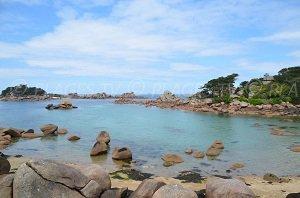 Spiaggia di Saint Guirec - Ploumanach