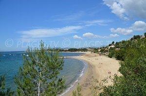 Argentière Beach - La Londe-les-Maures