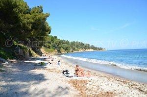 Spiaggia di Jean Blanc – Spiaggia dell'Eléphant