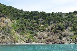 Spiaggia delle Fouirades
