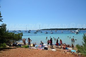 Beaches in Iles de Lérins - Ste Marguerite France (06) - Seaside ...